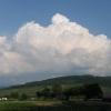 22. Mai 2007, Schönberg mit Cumuluswolke