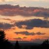 29. Mai 2007, Sonnenuntergang, Blick vom Kämmle aus