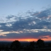 13. Juni 2008, Sonnenuntergang vom Klämmle aus
