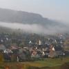 1. November 2011, Ebringen, Nebelschwaden