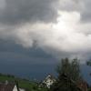 19:03 Uhr: Aufziehendes Unwetter über Ebringen Foto: Gundo Klebsattel, Ebringen